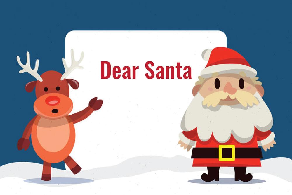 Santa Letter freebie template